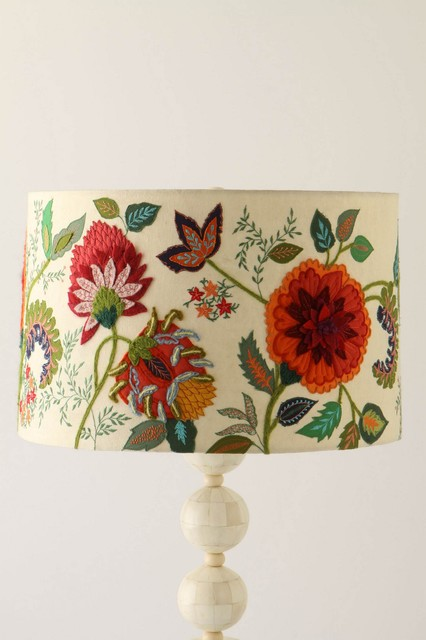 Needlework Garden Shade contemporary lamp shades