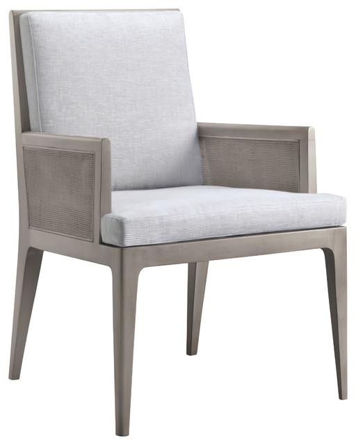 Carmel Cane Dining Arm Chair Baker Furniture