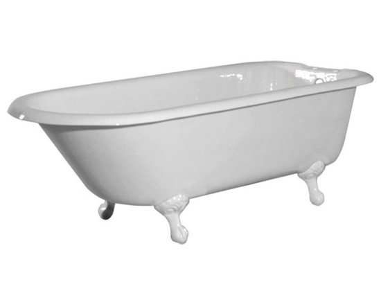 72-Inch Classic Clawfoot Tub by Randolph Morris - Obviously, it's all about the tub. I prefer the clawfoot. It transports me to a simpler time — a time of pipe smoke and heavily scented bubbles.