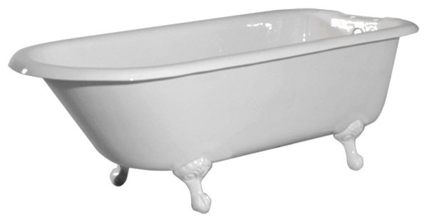 72 inch classic clawfoot tub by randolph morris traditional bathtubs. Black Bedroom Furniture Sets. Home Design Ideas