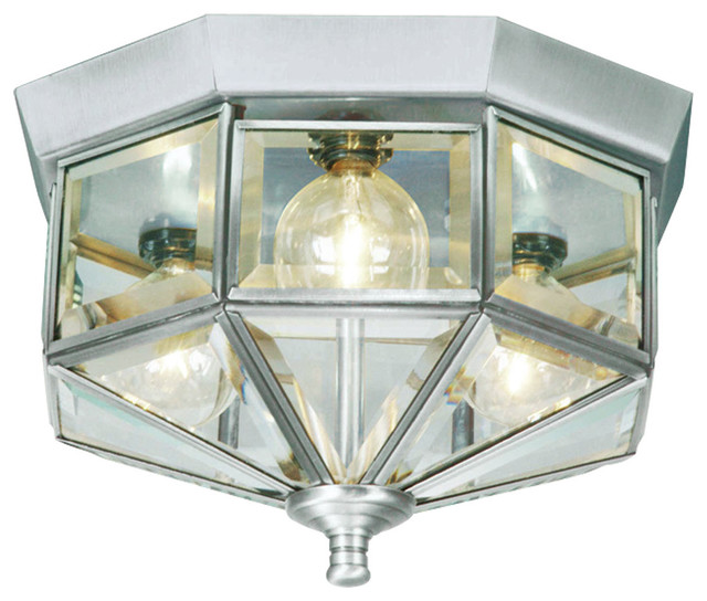 Livex Lighting 7012-91 Ceiling Light/Flush Mount Light contemporary-flush-mount-ceiling-lighting