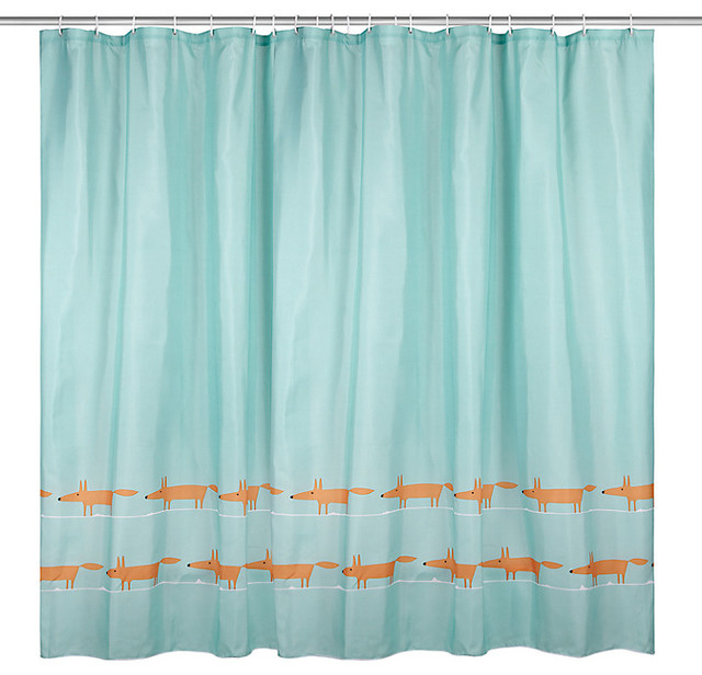 Scion Mr Fox Shower Curtain Contemporary Shower Curtains By John Lewis