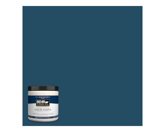 BEHR Premium Plus 8 oz. #560D-7 Planetarium Interior/Exterior Paint Sample -