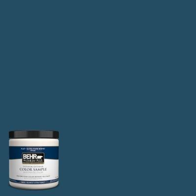 BEHR Premium Plus 8 oz. #560D-7 Planetarium Interior/Exterior Paint Sample paints-stains-and-glazes