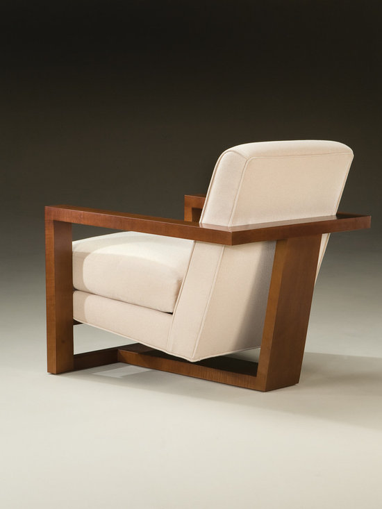 Thayer Coggin - Roger Lounge Chair (back view) from Thayer Coggin -