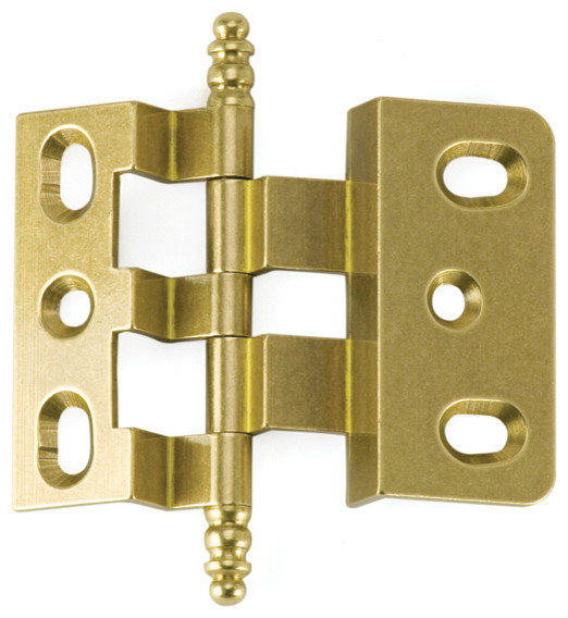 3-8-OFFSET-OB oxidized brass offset cabinet hinge - Traditional - Hinges - philadelphia - by ...