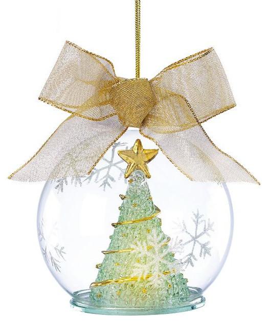 Lenox Christmas Ornaments Tree Lighted Wonder Ball