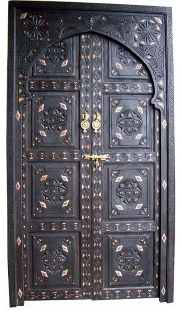 Sharafa door mediterranean interior doors by casbah for Mediterranean interior doors