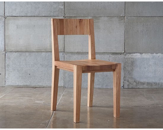 MASHstudios Dining Chair - nstant classic. Stunning simplicity + genius design equals the first incarnation of the LAXseries Chair by MASHstudios. This solid English walnut masterpiece is engineered to last a lifetime, both through its timeless aesthetic and strapping construction. Finished with a glowing, eco-conscious natural oil, the chair exudes a warm beauty made to delight for decades.