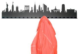 City Coat Rack, New York - Contemporary - Clothes Racks - by Radius ...