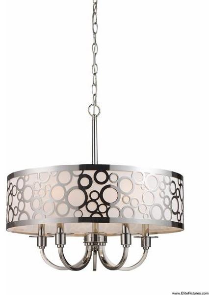 Elk Lighting 31026/5 5 Light Chandelier Retrovia Collection contemporary-chandeliers