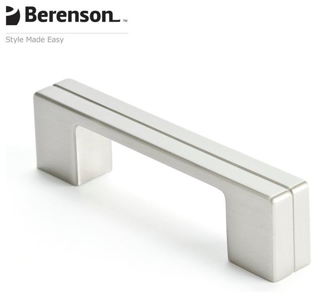 9200-1BPN-P Berenson Brushed Nickel Cabinet Knob modern-cabinet-and-drawer-handle-pulls
