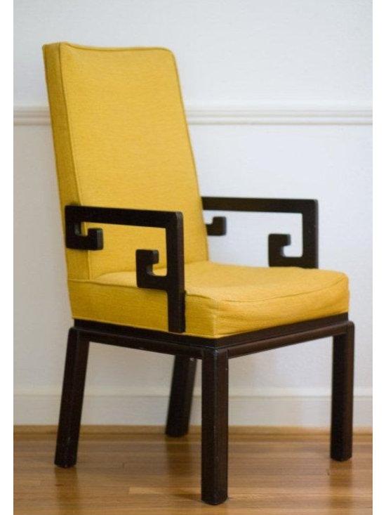 Greek Key Armchair -