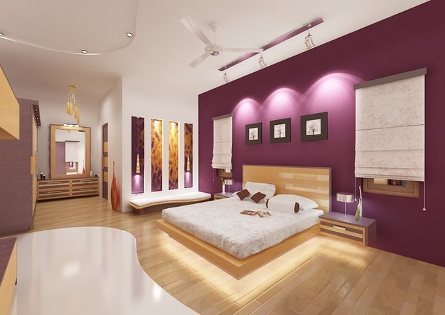 A Bungalow in Bangalore contemporary-bedroom