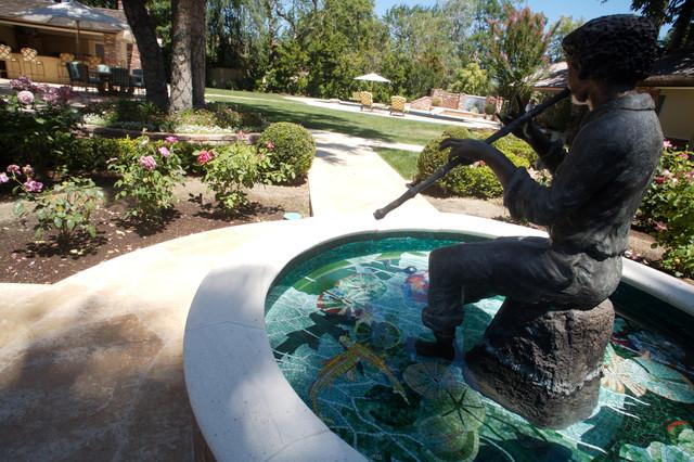 Fancy Fountains eclectic-landscape