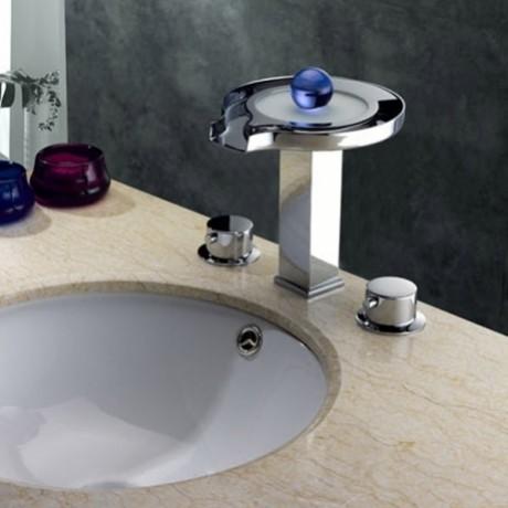 Style Bathroom Lavatory Sink Faucet Chrome Finish - Modern - Bathroom ...