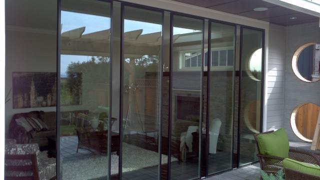 Vision - Double Glazed Sliding Wall Systems traditional-patio