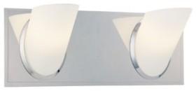 George Kovacs | Angle 2-Light Bath Light bathroom-vanity-lighting