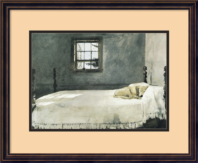 master bedroom framed print by andrew wyeth traditional prints and