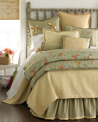 LEGACY Barano Seaglass Bed Linens Queen Floral Duvet Cover, 90 x 96 traditional duvet covers