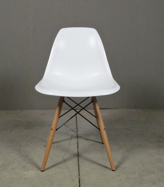 molded seat dining chair white eclectic-dining-chairs