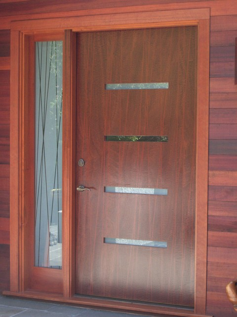Entry Doors Modern Front Doors San Francisco By Artistic Millworks