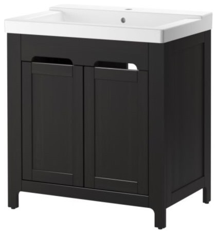 FREDEN/HÖLLVIKEN Sink cabinet modern bathroom vanities and sink consoles