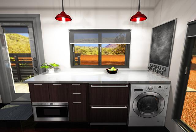 Wosho 16x16 custom modern rendering phoenix by for 16x16 kitchen designs
