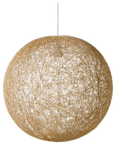 Spun Ball Pendant 50cm | Freedom™ furniture and homewares contemporary pendant lighting