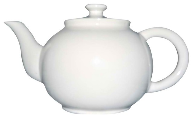 White Teapot - Eclectic - Teapots - new york - by Second Shout Out