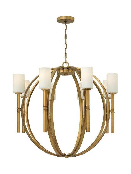 Hinkley Lighting 3588VS 8Lt. Chandelier Margeaux Collection -