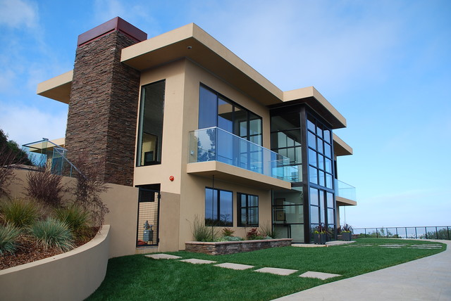 California Luxury Residental Homes Contemporary Exterior