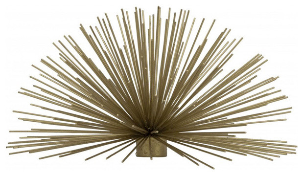Brass Urchin Accent, Large - Modern - Home Decor - by Furbish Studio
