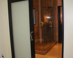 Westshore bathroom remodel contemporary-interior-doors