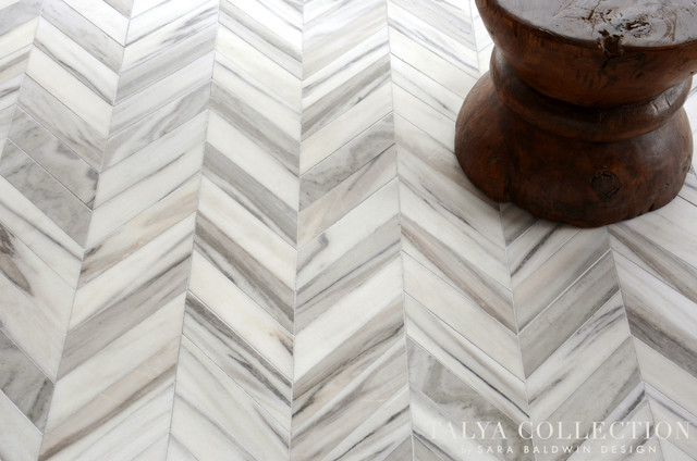 Bosphorus, Talya Collection by Sara Baldwin for Marble Systems contemporary-tile