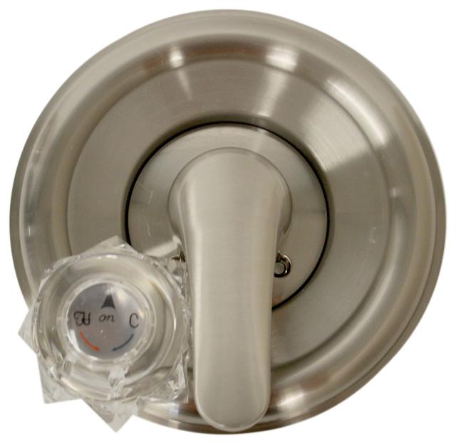 tub shower trim kit for delta in brushed nickel transitional tub