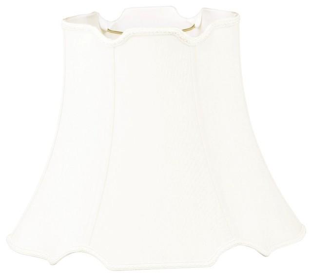 V-Notched 6-Way Designer Lampshade traditional-lamp-shades