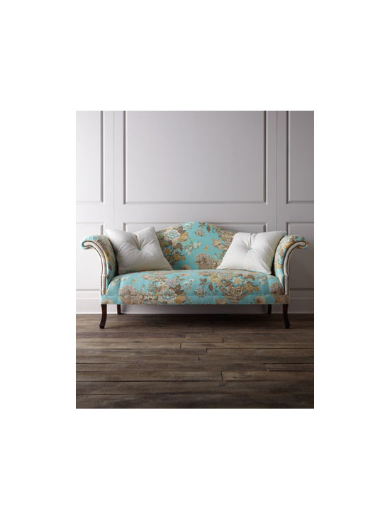 Haute House - Haute House 'Jadda' Sofa - How can you not want to lounge on this couch with a cup of tea and a soft white blanket?