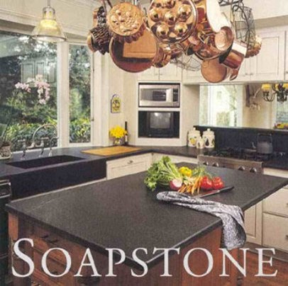 Soapstone Kitchen with slab sink traditional kitchen