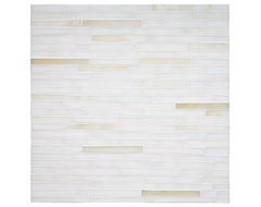 Tempo Bamboo Mosaic contemporary kitchen tile