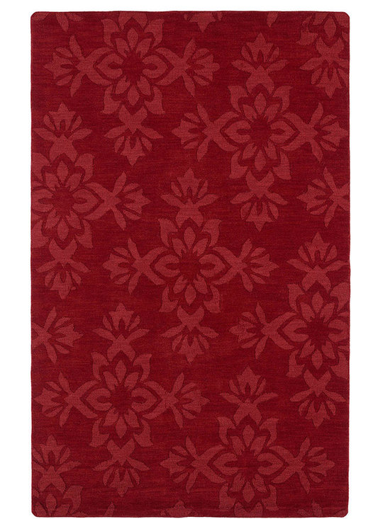 Kaleen - Imprints Classic Ipc04 Red Rug - Imprints Classic, where textiles meet fashion. Modern textile designs and todays hottest colors combine to meet the new evolution of this beautiful collection. Straight off the runway and into your home each rug is handmade in India of 100% Virgin Wool.