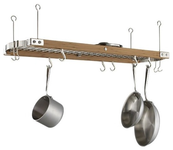 Large Bamboo Ceiling Pot Rack - Pot Racks And Accessories - other metro - by Rebekah Zaveloff ...