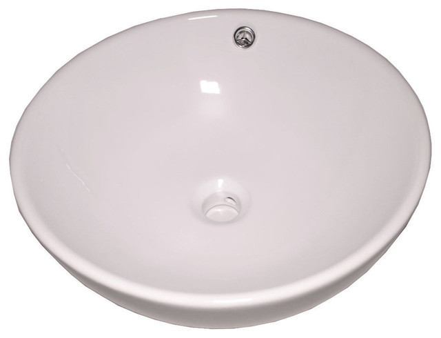 ... Vessel Sink with Overflow - Contemporary - Bathroom Sinks - by Flotera