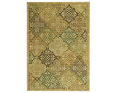 "Tommy Bahama Moroccan Mosaic 2'6"" X 7'9"" Rug traditional-rugs"