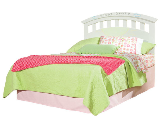 Bedrooms Furniture - Free 2 B - Lite Bright White Twin Panel Bed