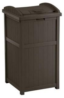 Suncast Patio Furniture Outdoor Trash Hideaway Gh1732j
