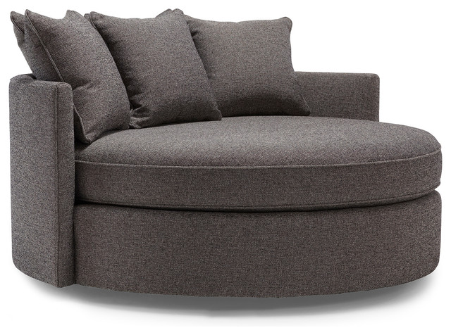 Jeanie Round Chair 1 2 Contemporary Sofas By