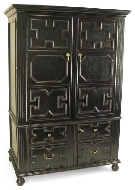 Wayborn Ava Computer Armoire Modern Storage Cabinets