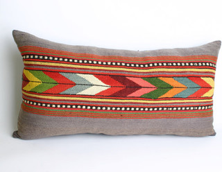 Eclectic Pillow Cases : Turks Handmade Kilim Pillow Case by Yuner Shop - Eclectic - Decorative Pillows - by Etsy