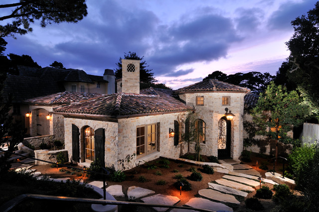 Italian Tuscan Style Home - Mediterranean - Windows And ...